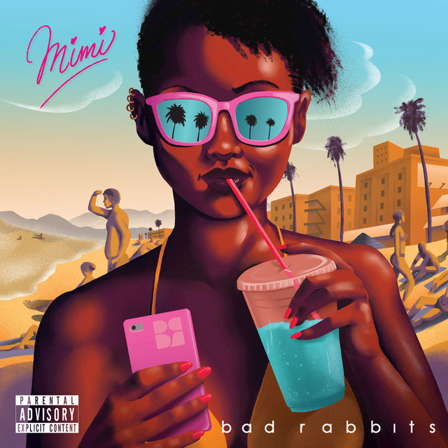 Album cover for Mimi by Bad Rabbits