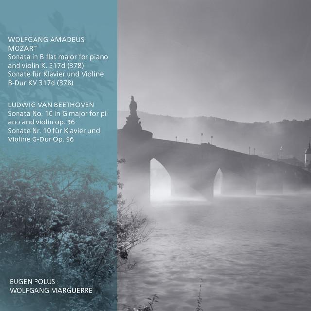 Album cover for Octapharma Classics - Wolfgang Amadeus Mozart, Sonate für Klavier und Violine B-Dur KV317d (378), Ludwig V. Beethoven, Sonate No. 10 für Klavier und Violine G-Dur, Op. 96 by Wolfgang Amadeus Mozart, Octapharma Classics