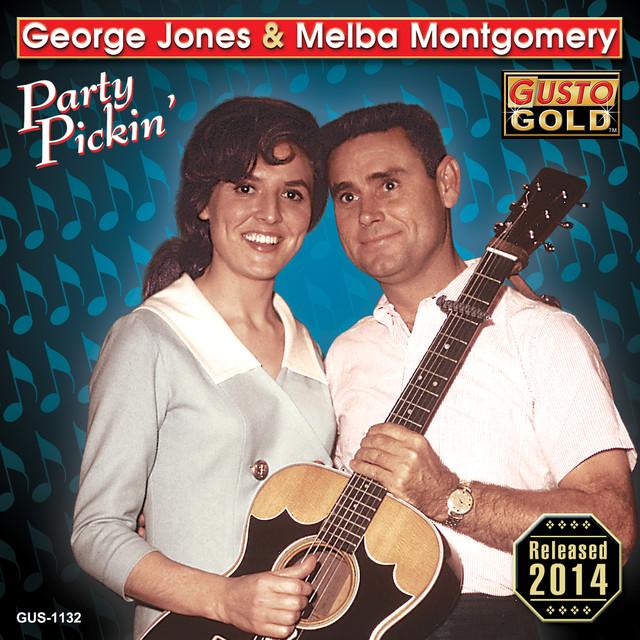 George Jones, Melba Montgomery Party Pickin' album cover