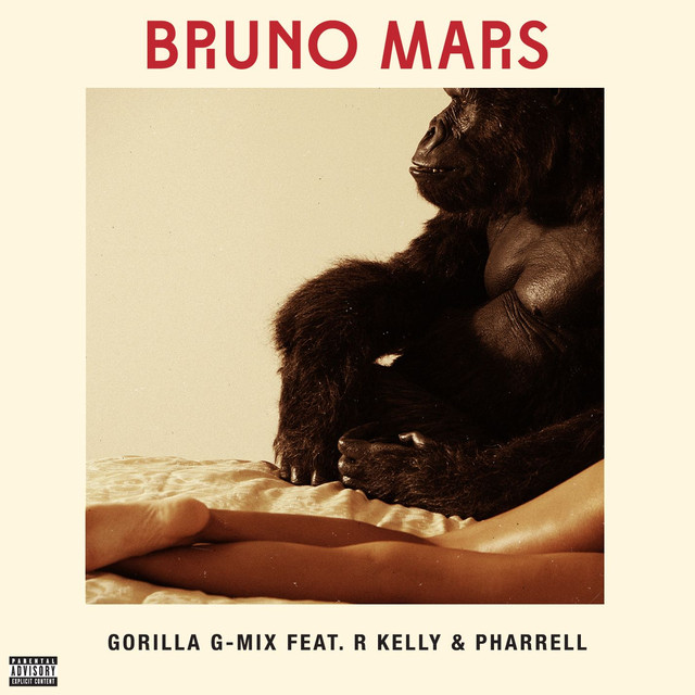 Bruno Mars Gorilla (feat. R Kelly And Pharrell) [G-Mix] album cover