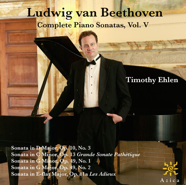 Beethoven: Complete Piano Sonatas, Vol. V Albumcover