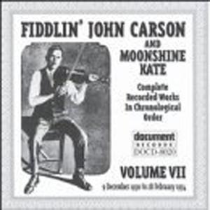 Fiddlin John Carson Vol. 7 (1930-1934) album