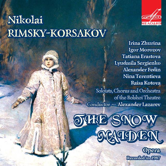 Rimsky-Korsakov: The Snow Maiden Albumcover