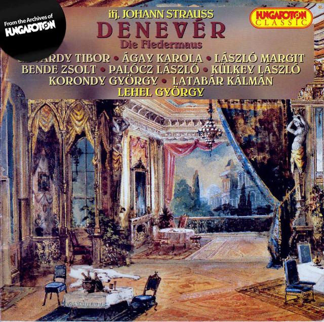 Strauss II: Denevér Albumcover