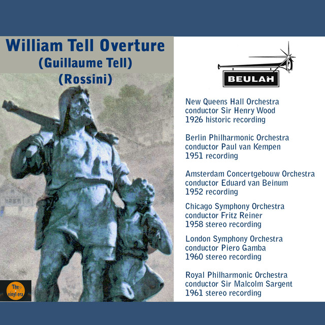 overture to william tell by gioachino The william tell overture is the overture to the opera william tell (original french title guillaume tell), whose music was composed by gioachino rossini william tell premiered in 1829 and was the last of rossini's 39 operas, after which he went into semi-retirement (he continued to compose cantatas, sacred music and secular vocal music.