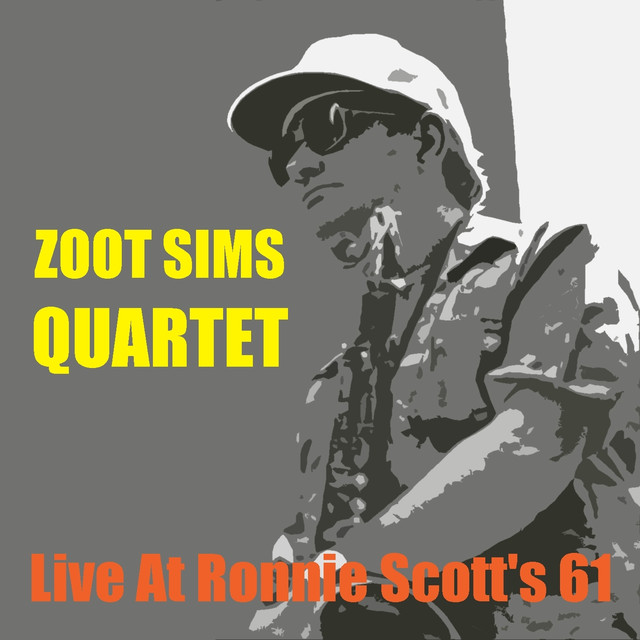 Zoot Sims Quartet Live at Ronnie Scott's 61 album cover