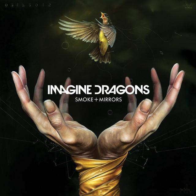 Imagine Dragons Smoke + Mirrors album cover