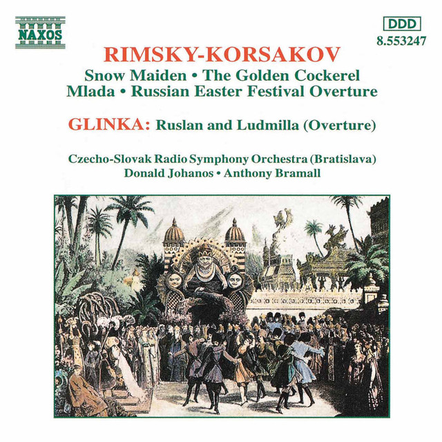 Rimsky-Korsakov: Snow Maiden / Glinka: Overture Albumcover