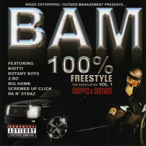 100% Freestyle Compilation, Vol. 1 (Chopped & Skrewed) album