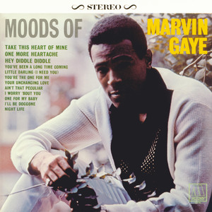 Moods Of Marvin Gaye Albumcover