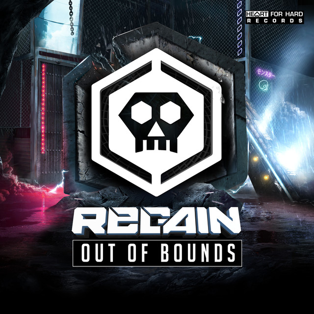 Album cover for Out of Bounds by Regain