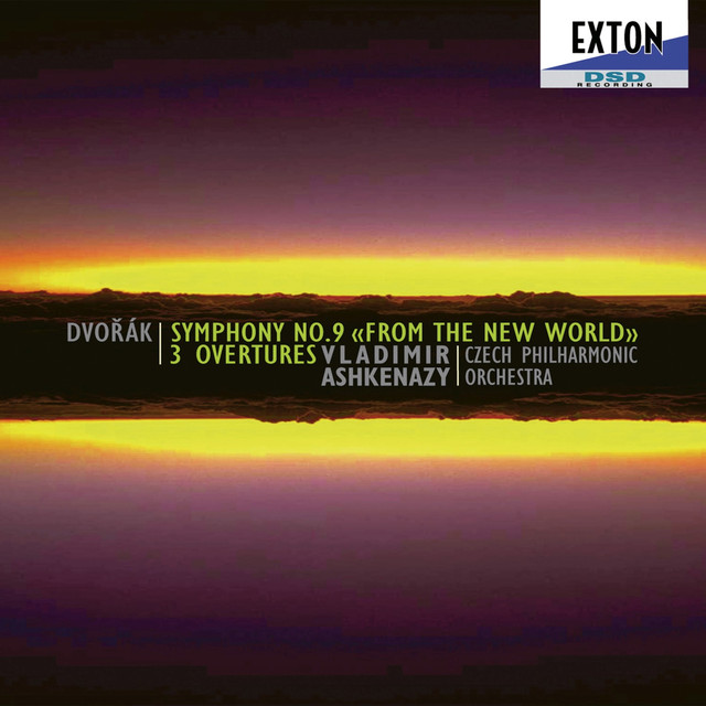 Dvorak: Symphony No. 9 from the New World, 3 Overtures Albumcover