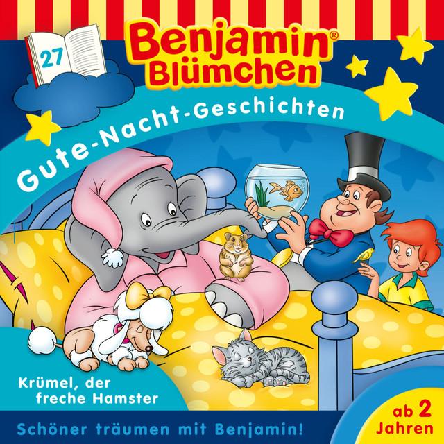 Gute Nacht Geschichten - Folge 27: Krümel, der freche Hamster Cover