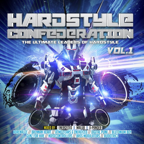 Hardstyle Confederation, Vol. 1 (The Ultimate Leaders of Hardstyle)