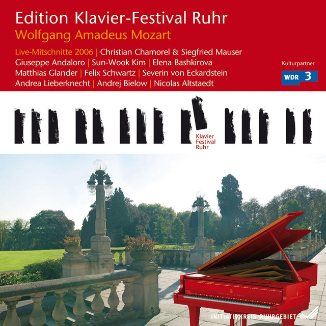 Mozart: Live Recordings (Edition Ruhr Piano Festival, Vol. 14) Albumcover