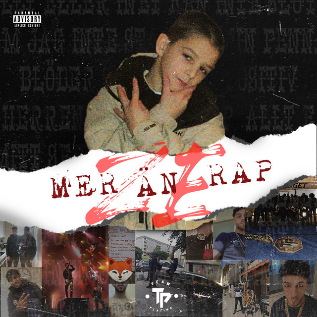 Album cover for MER ÄN RAP by Z.E