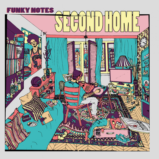 Album cover for Second Home by Funky Notes
