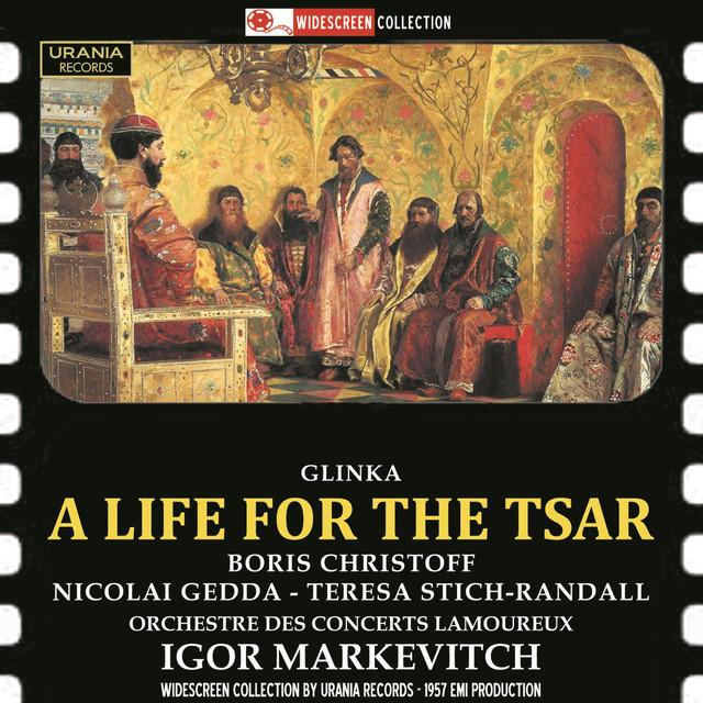 Glinka: A Life for the Tsar (Arr. N. Rimsky-Korsakov) Albumcover