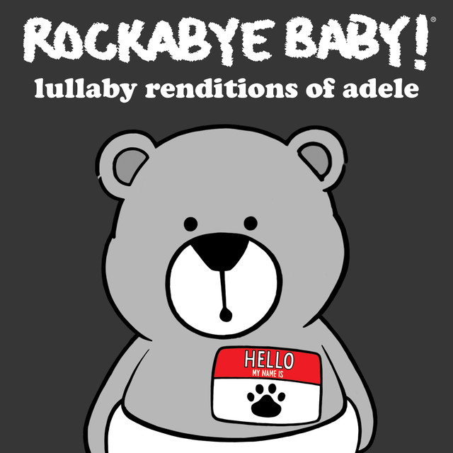 Album cover for Lullaby Renditions of Adele by Rockabye Baby!
