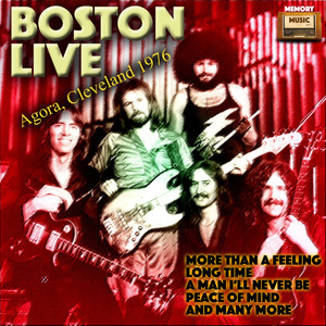 Boston Live Agora, Cleveland 1976 Albumcover