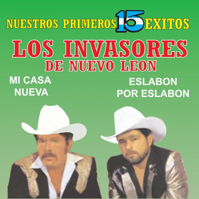 Los Invasores de Nuevo León Nuestros Primeros 15 Éxitos album cover