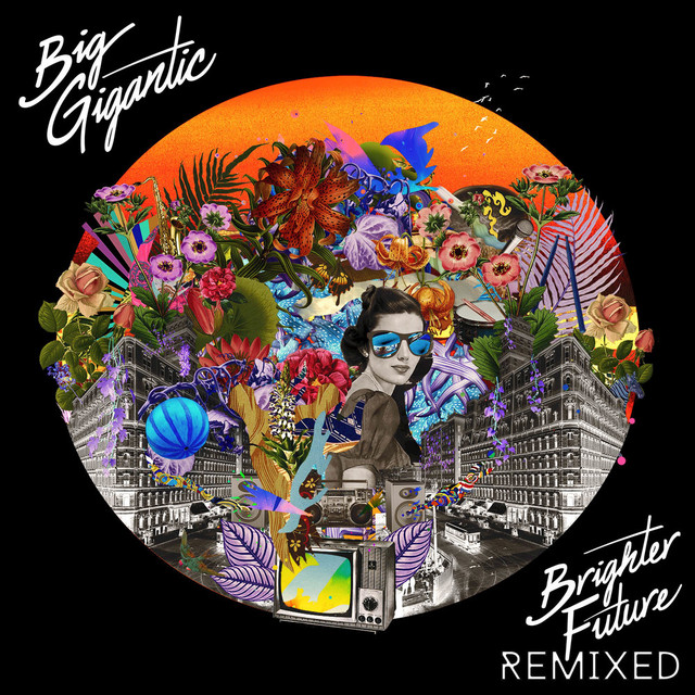 Album cover for Brighter Future Remixed by Big Gigantic