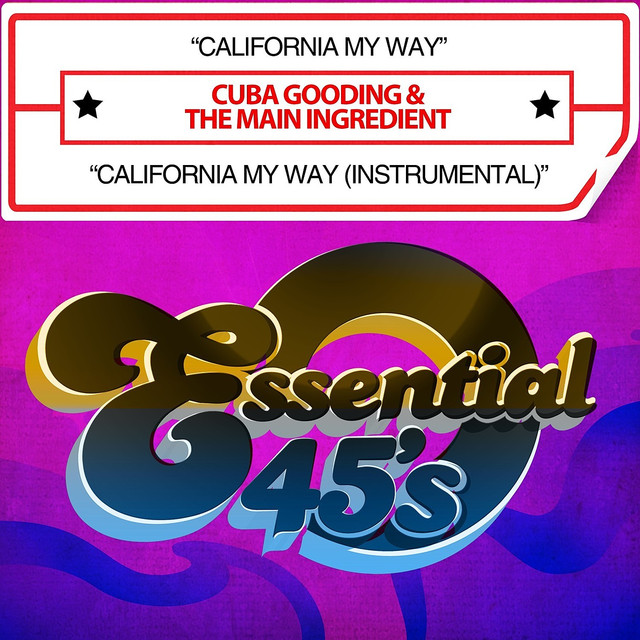 California My Way / California My Way (Instrumental) [Digital 45]