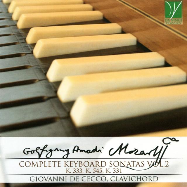 Mozart: Complete Keyboard Sonatas, Vol. 2