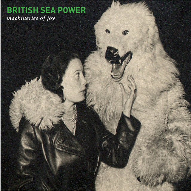 Album cover for Machineries of Joy by British Sea Power