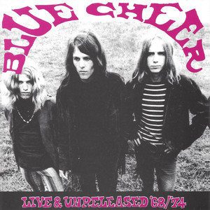 Blue Cheer Punk - Gold Star Studio 1974 cover