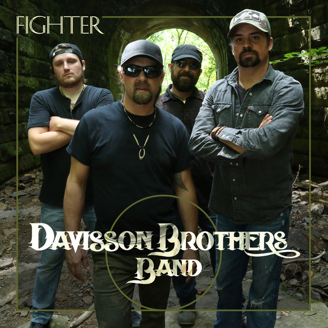 Album cover for Fighter by Davisson Brothers Band