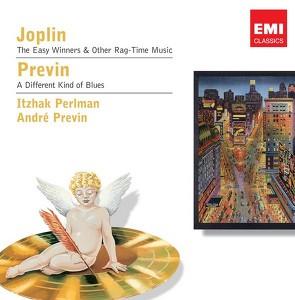 Joplin, Previn: Ragtime & Blues Albumcover