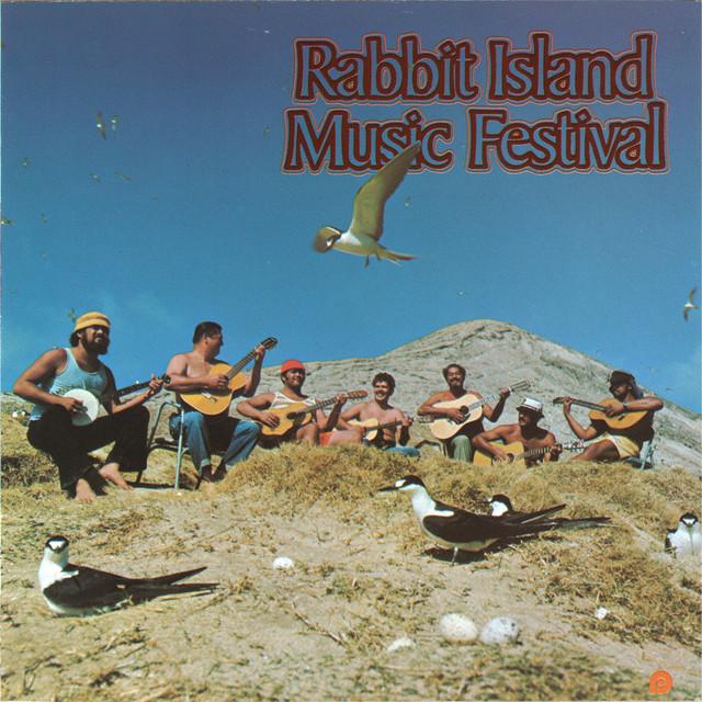 Gabby Pahinui Rabbit Island Music Festival album cover