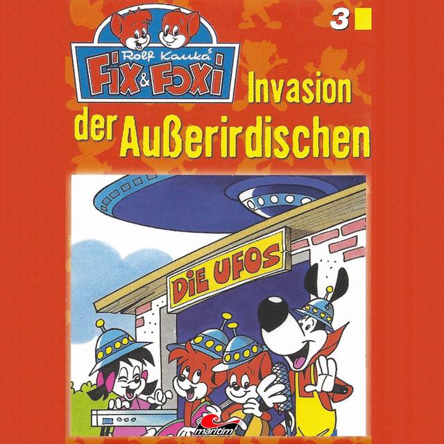 Folge 3: Invasion der Außerirdischen Cover