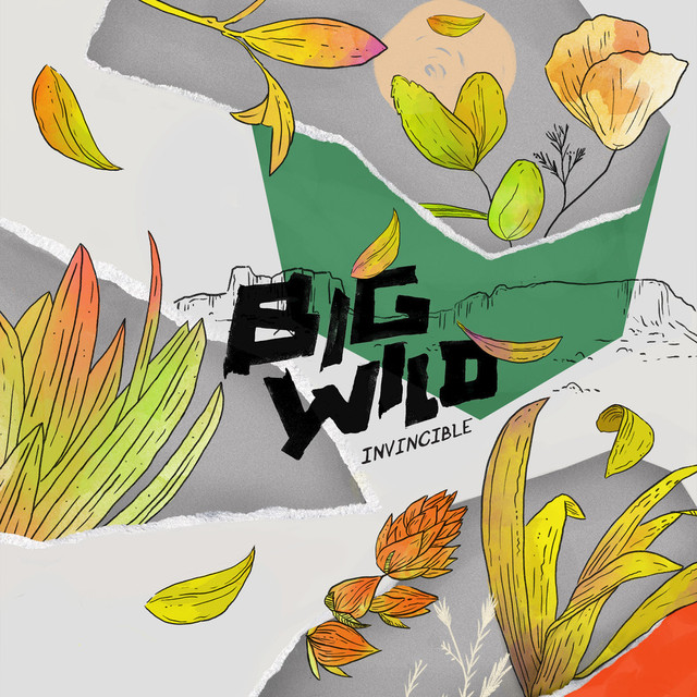 Album cover for Invincible EP by Big Wild