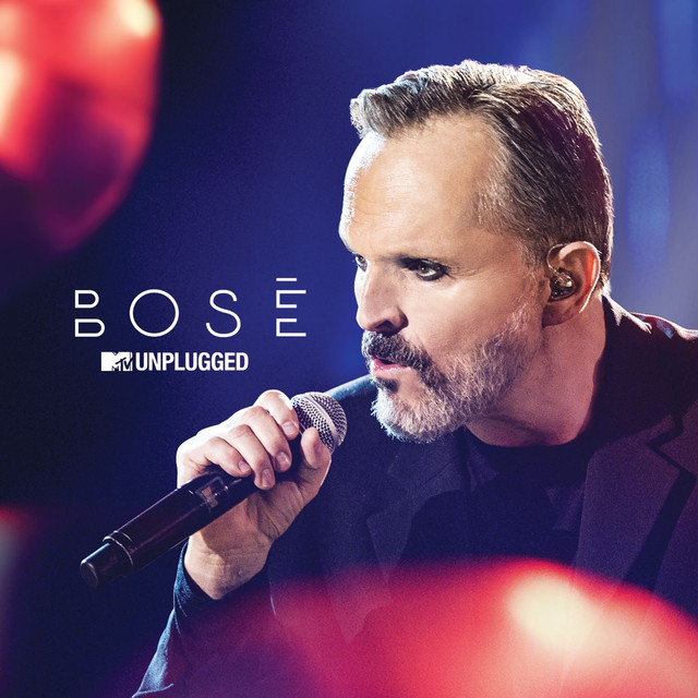 Album cover for MTV Unplugged by Miguel Bosé