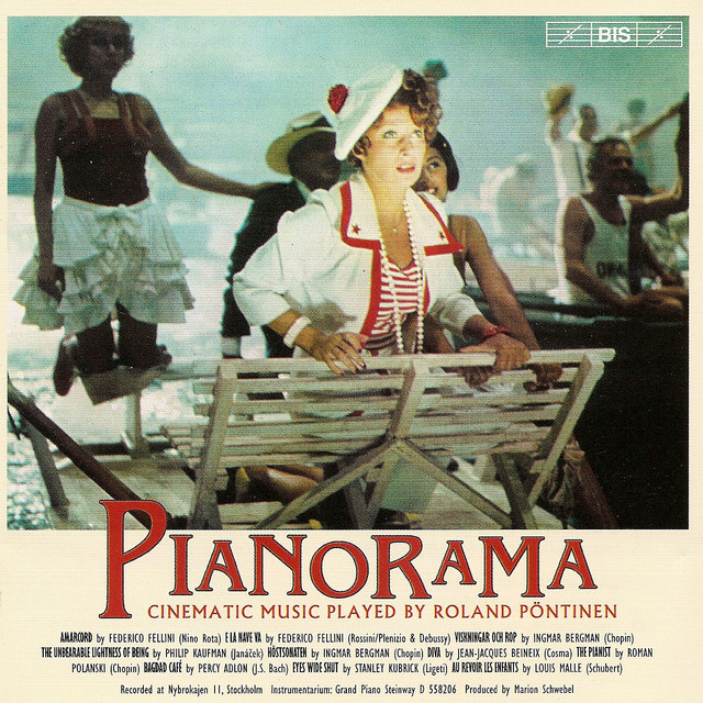 Pianorama - Collection of Film Music for Piano Albumcover
