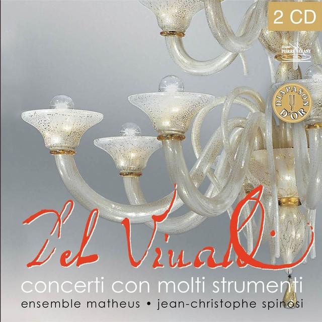 Vivaldi : Coffret des concerti con molti strumenti Albumcover