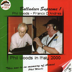 Phil Woods, Franco D'Andrea Almost Like Being In Love cover