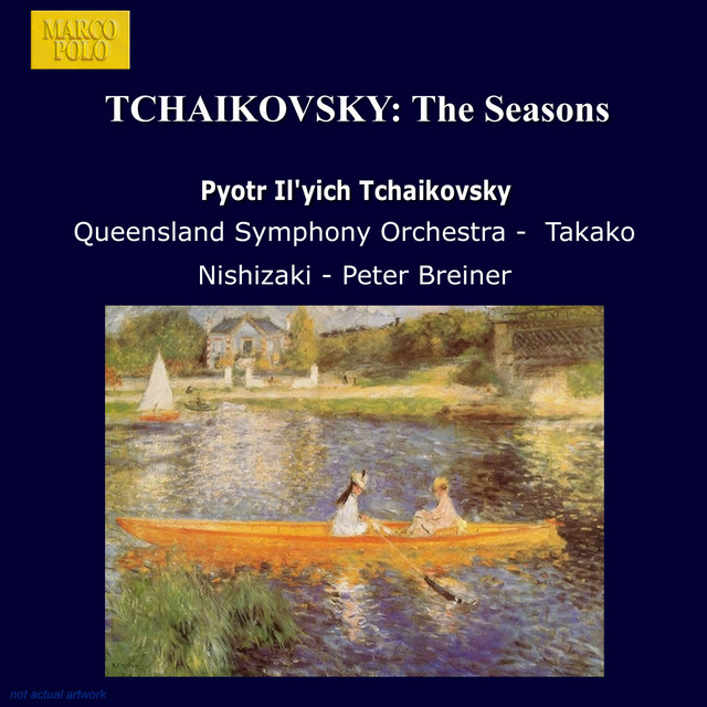 Tchaikovsky: Seasons (The) Albumcover