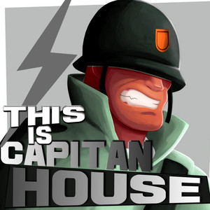 This Is Capitan House Albumcover