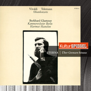Vivaldi & Telemann: Oboe Concertos Albumcover