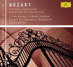 Mozart: Sinfonia concertante K.364; Concertone K.190 Albumcover