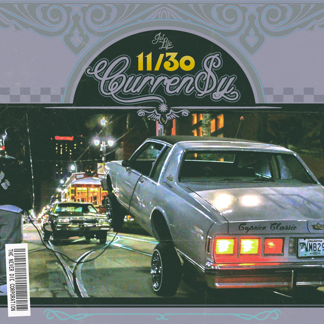 Album cover for Andretti 11/30 by Curren$y