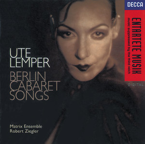 Berlin Cabaret Songs (Sung in German) album