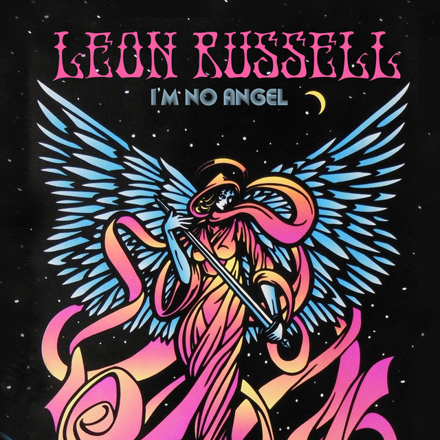 Leon Russell I'm No Angel album cover