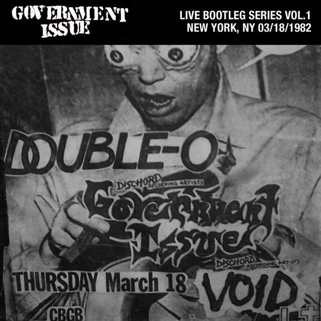 Live Bootleg Series Vol. 1: 03/18/1982 New York, NY @ CBGB