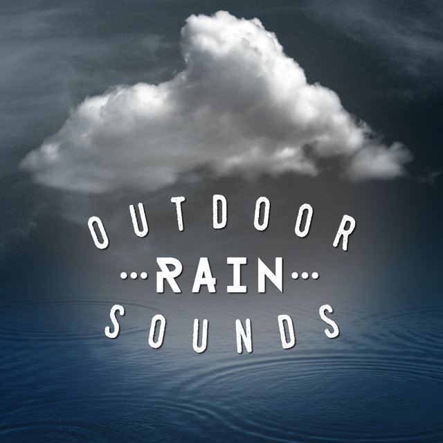 Outdoor Rain Sounds Albumcover