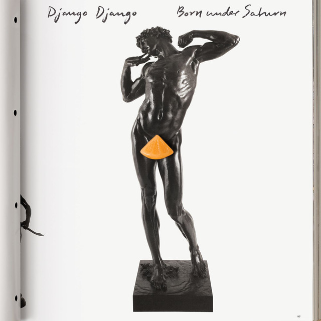 Album cover for Born Under Saturn by Django Django