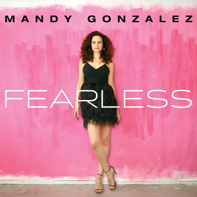 Album cover for Fearless by Mandy Gonzalez